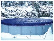 Bâche et couverture piscine d'hiver