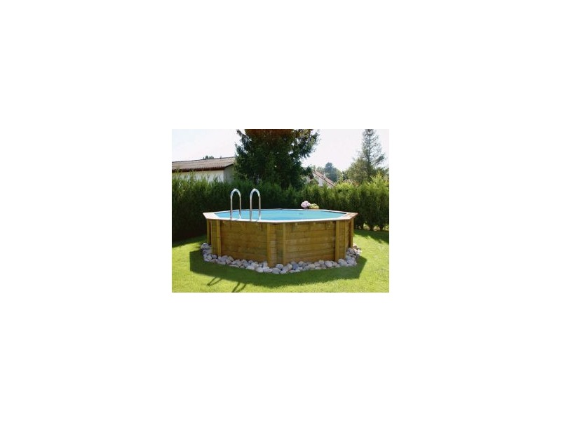 Weva piscine bois forme octogonale par procopi for Piscine center