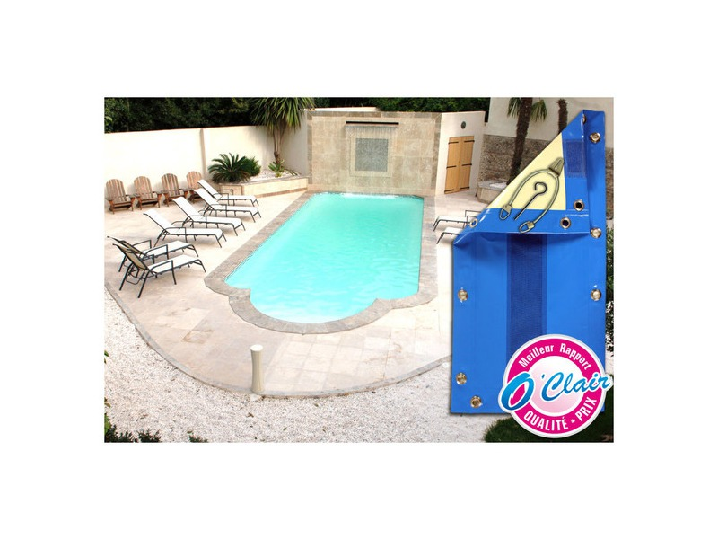 Nara safe pour piscine provence polyester couverture for Piscine coque polyester portugal