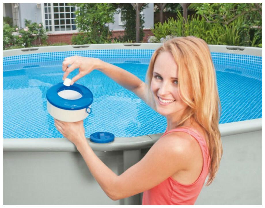 diffuseur intex grand mod le pour piscines hors sol et spas piscine center net. Black Bedroom Furniture Sets. Home Design Ideas