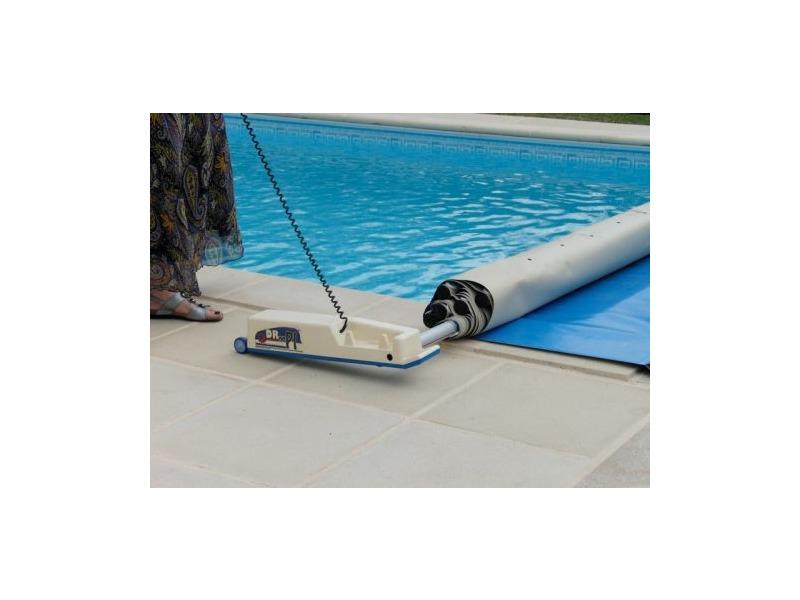 Enrouleur lectrique motoris b che barres droopi for Enrouleur electrique bache piscine occasion
