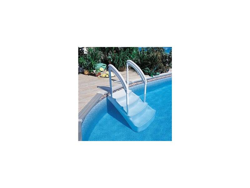 Escalier piscine hors sol amovible voie royale piscine for Piscine hors sol martinique