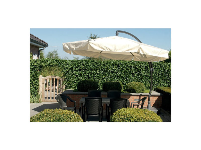 achat de parasol excentr de qualit garantie 2 ans jardin. Black Bedroom Furniture Sets. Home Design Ideas