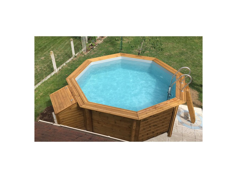 piscine en bois pas cher woodfirst original 511 piscine. Black Bedroom Furniture Sets. Home Design Ideas