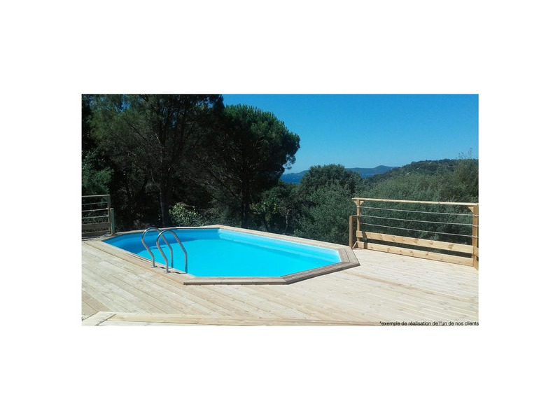 Le meilleur kit piscine sur le march woodfirst original for Liner piscine en bois octogonale