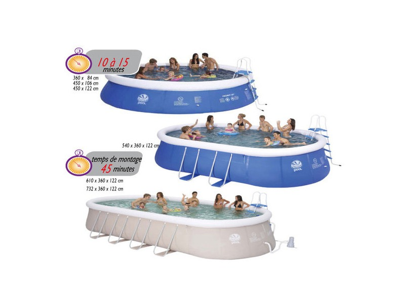 Piscine hors sol autoportante boudin gonflable piscine for Piscine center