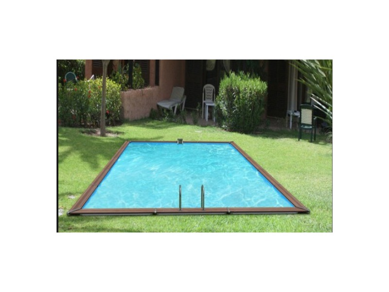 Piscine bois waterclip rectangle hauteur 147cm piscine for Piscine center