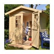 Abri en bois classique de 0 à 10 m²