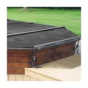 Bâche à barres pour piscine bois Woodfirst Original