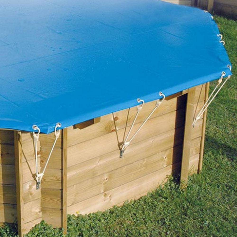 Bâche hiver pour piscine bois Woodfirst Original