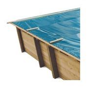 Baches à barres pour piscine bois original 600 x 420