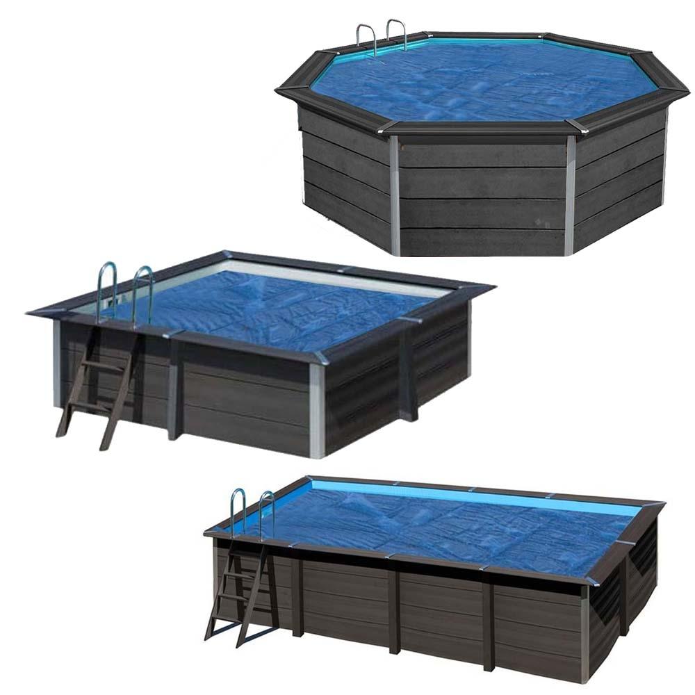 Bâches été à bulles 400 µ pour piscines composite