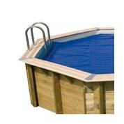 Baches été pour piscine bois original 412 x 119