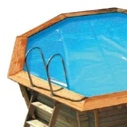 Baches été pour piscine bois Original 428 X 428