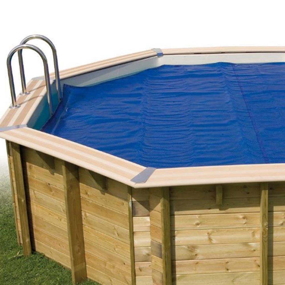 Baches été pour piscine bois original 852 X 455