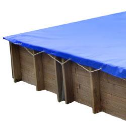 Baches hiver pour piscine bois original 815 x 420