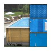 Baches pour piscine bois original 300 x 300