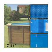 Baches pour piscine bois original 412 x 119