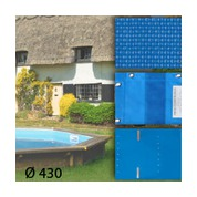 Baches pour piscine bois original 430 x 430