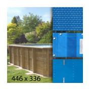 Baches pour piscine bois original 436 x 336