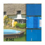 Baches pour piscine bois original 562 x 562