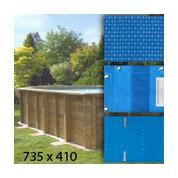 Baches pour piscine bois original 735 x 410