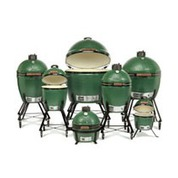 Four barbecue Big Green Egg