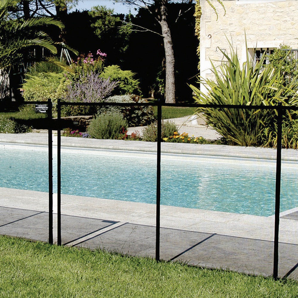 barri re de s curit amovible en pvc piscine center net. Black Bedroom Furniture Sets. Home Design Ideas