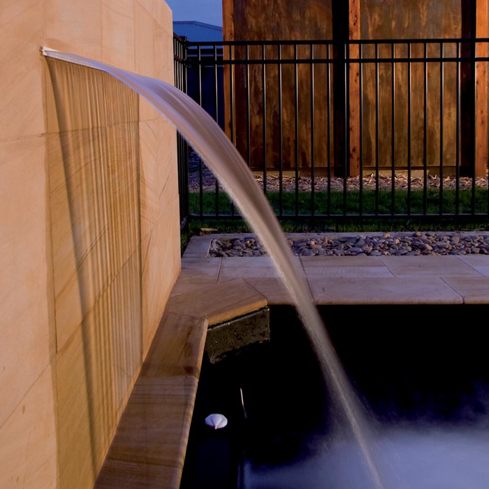 Cascade Silkflow en ABS pour piscine