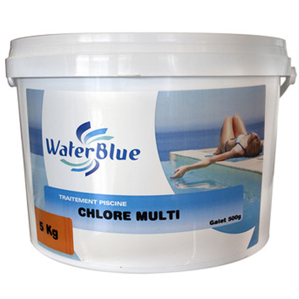 Chlore multifonctions pour piscines