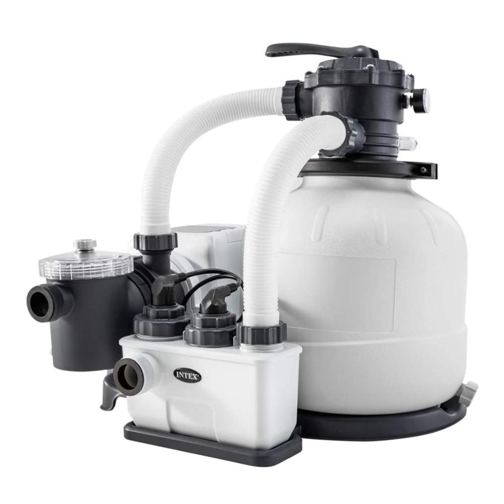Combiné Eco-stérilisateur et filtre à sable Intex