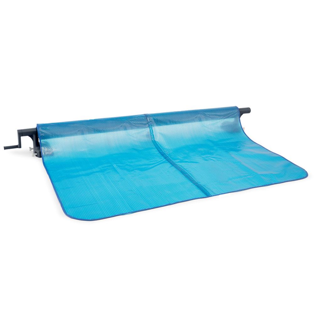 Enrouleur bâches été pour piscine hors sol Intex