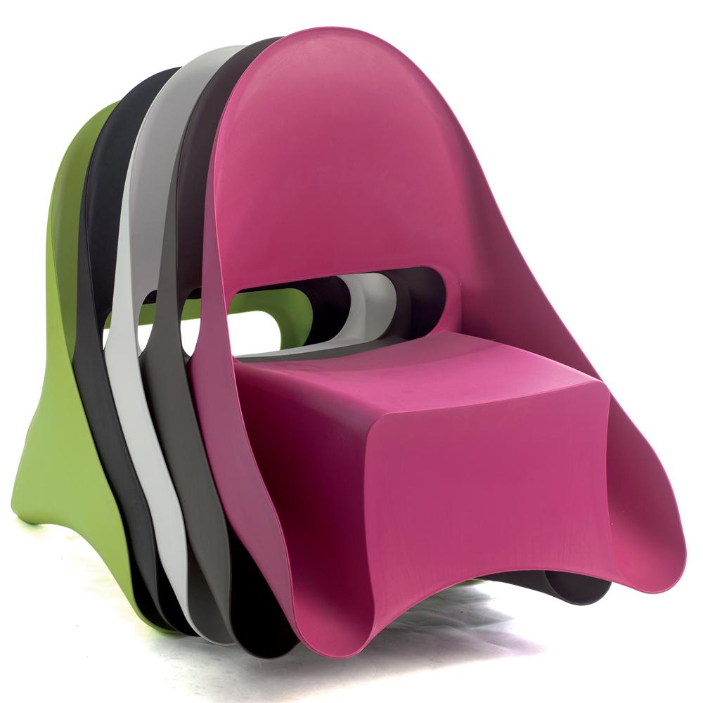 Fauteuil design Ondule