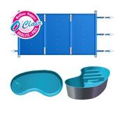 Génération piscine bâche à barres pool barre plus rectangulaire
