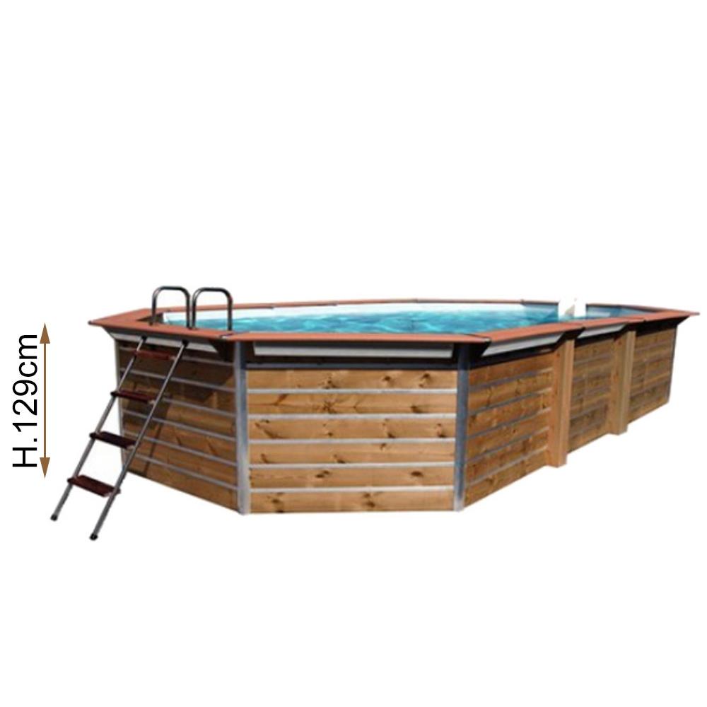 Hauteur 1.29 m - Octogonale Allongée