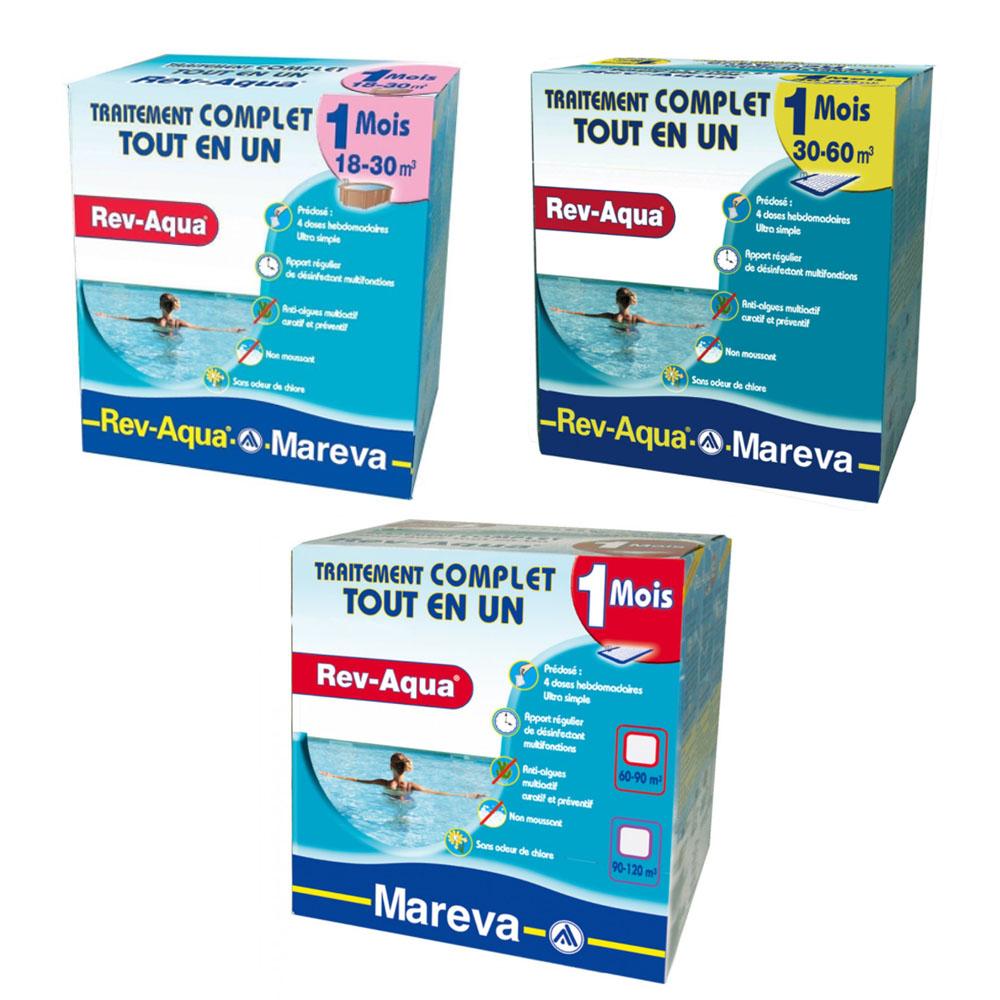 Kits de traitements chloré pour piscines