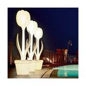 Lampadaire de jardin lumineux