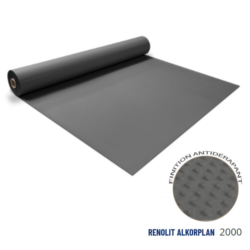 Liner anti-dérapant gris foncé 180/100 ème