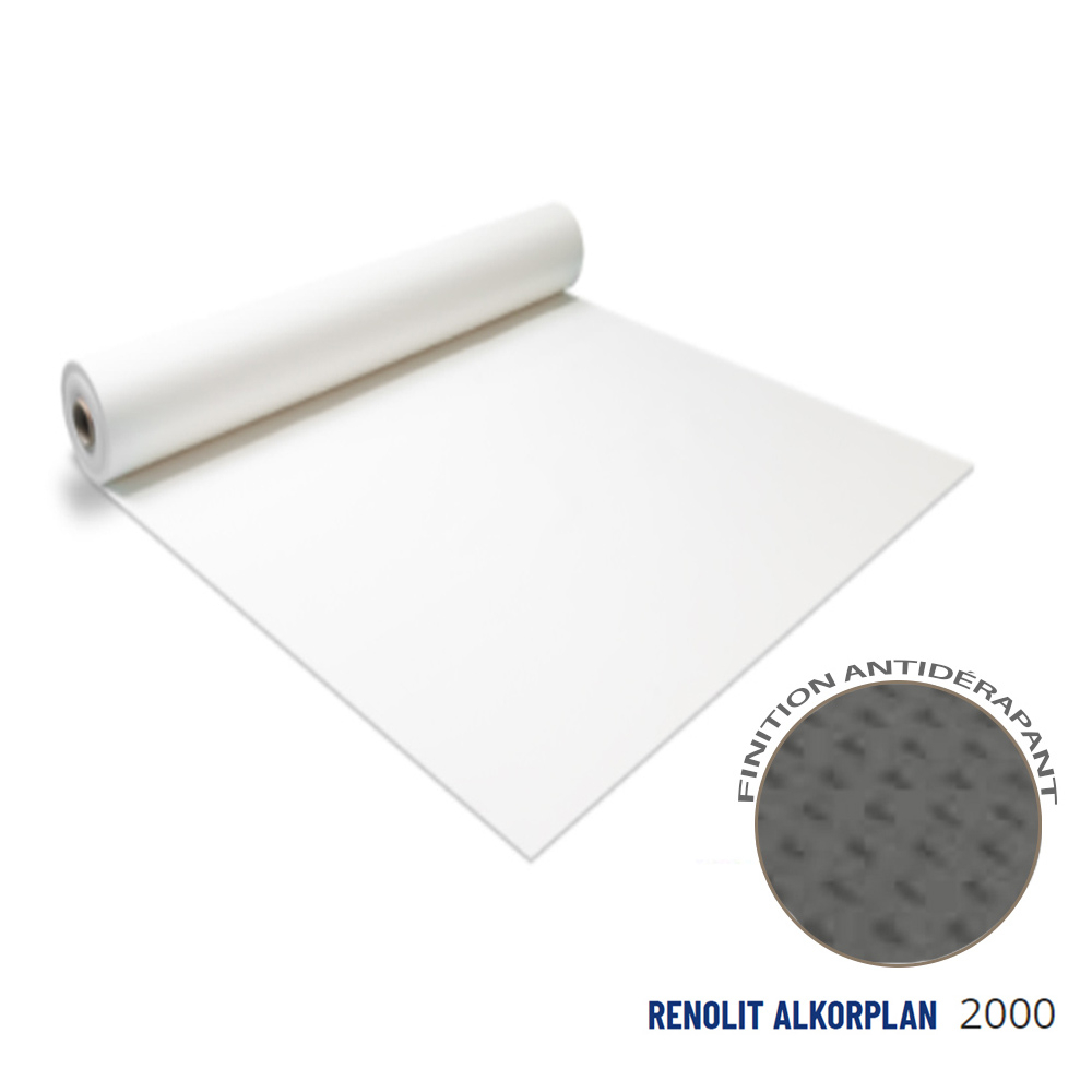 Liner antidérapant blanc 180/100 ème