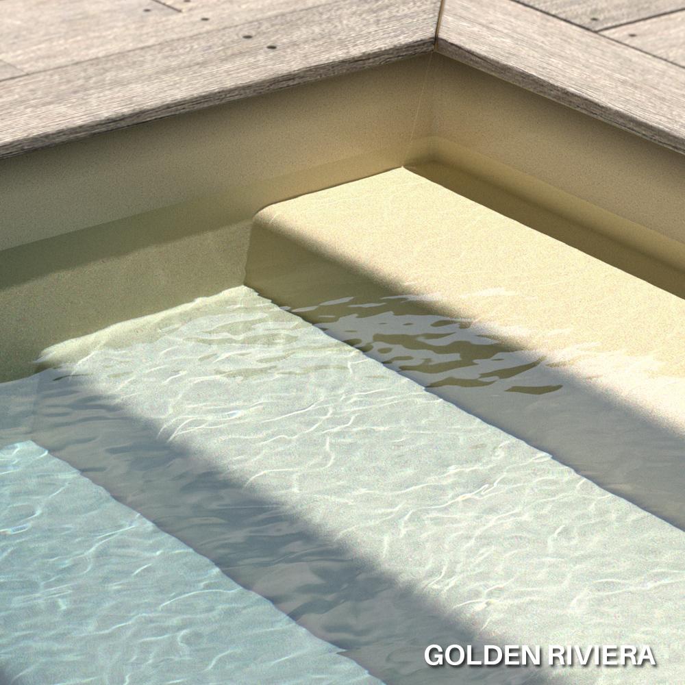 Liner imprimé texturé Aquasense Golden Riviera