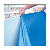 Liner overlap 30/100 bleu pour piscine hors sol GRE