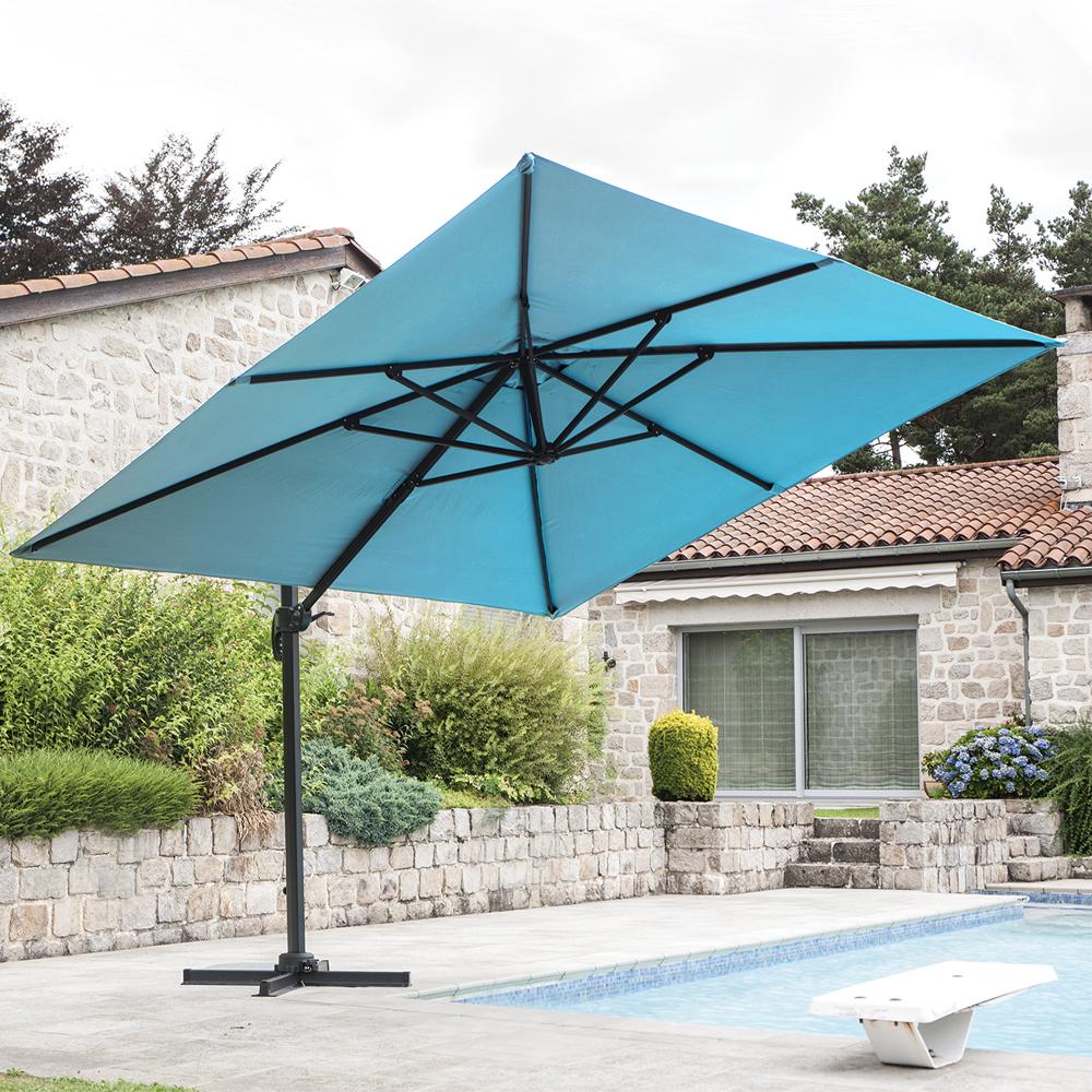 Parasol déporté Luxe King - 300 x 300 cm