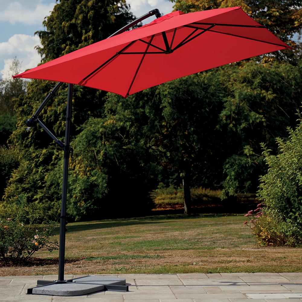 Parasol déporté Super King - 300 X 200 cm