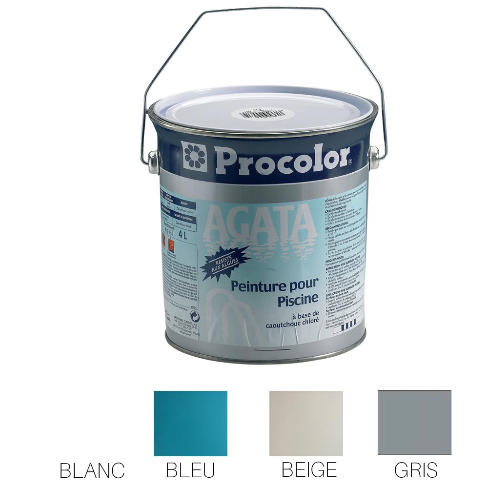 Peinture pour piscine Procolor