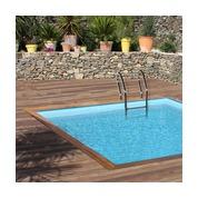 Piscine bois Woodfirst Original carrée 305 x 305 x 120 cm