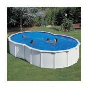 gr piscine acier blanc en kit au meilleur prix piscine center net. Black Bedroom Furniture Sets. Home Design Ideas