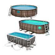 Piscine tubulaire Power Steel Swim Vista Series Bestway