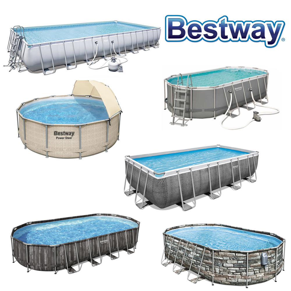 Piscine tubulaire Power Steel Bestway