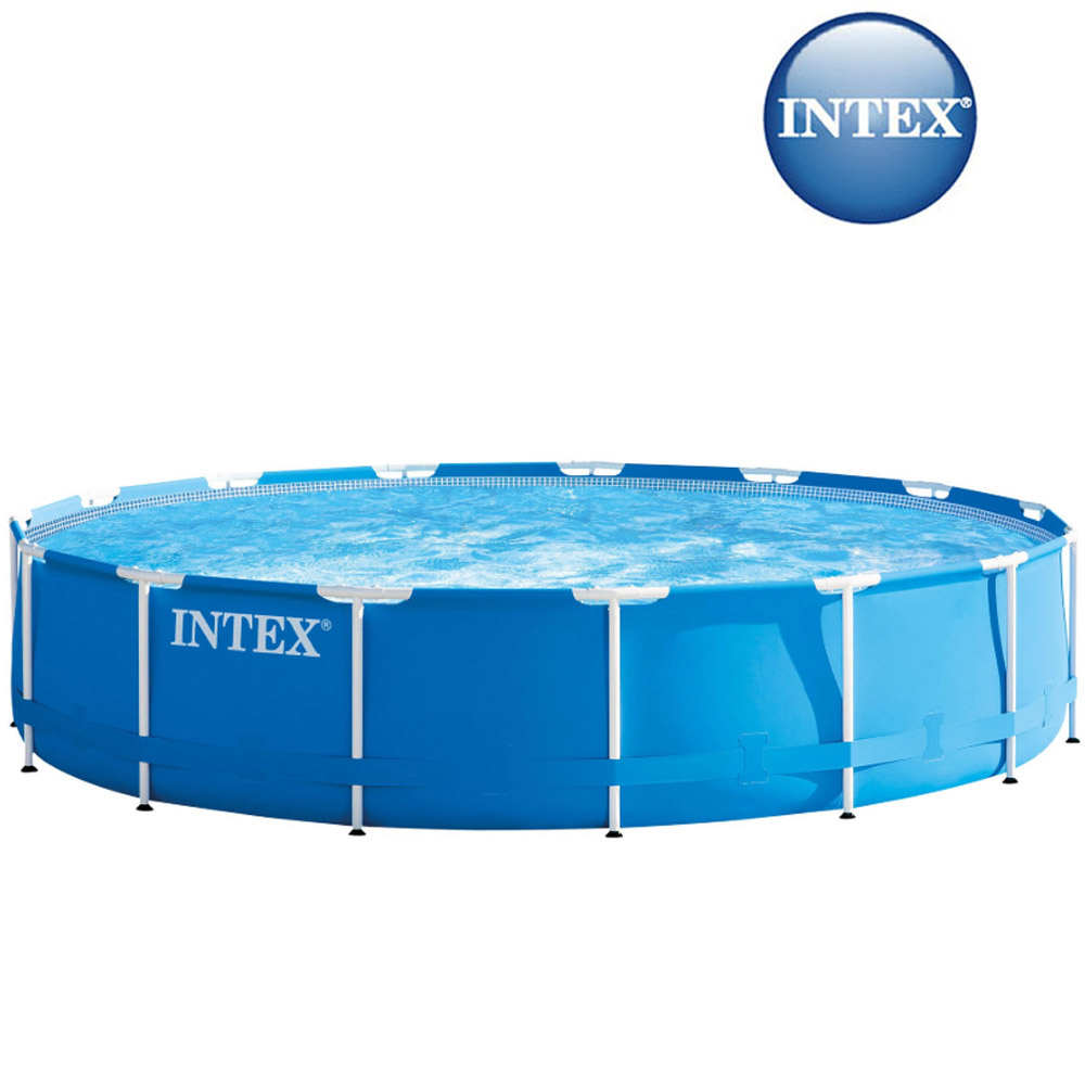 Piscine tubulaire ronde Metal Frame Intex