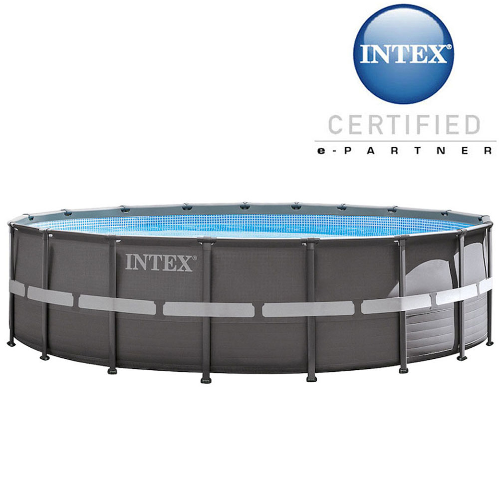 Piscine tubulaire ronde Ultra Frame Intex